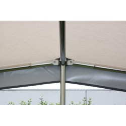Frame 22mm staal Parasol XL mt 7 t/m 9